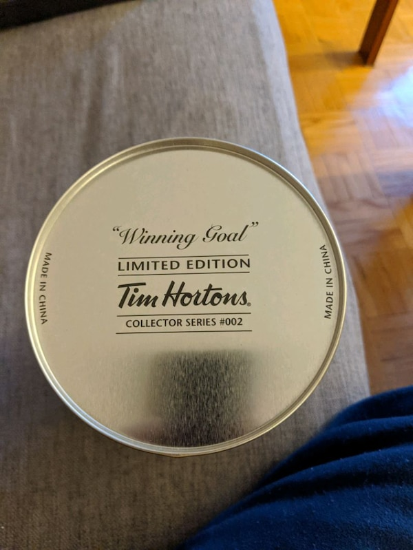 Tim Hortons winning goal collectors edition #2 can 2f37e523-6259-4a10-bc86-73715c7644f9