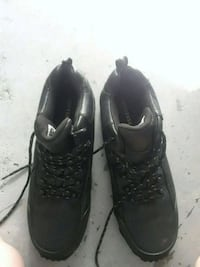 pair of black leather shoes Mascotte, 34753