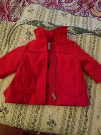 red zip-up jacket Longmeadow, 01106