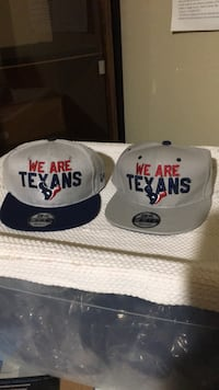 Texans snapfit leathercap on the right is $5 extra Edinburg, 78541