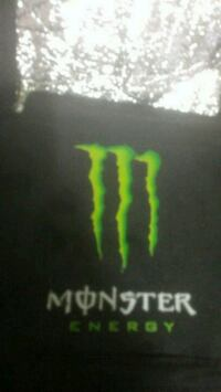 Monster energy thermal lunch box/bag