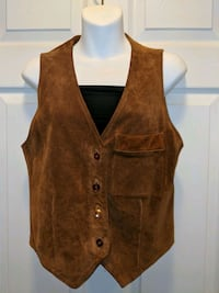 Geniune Leather Vest Brampton, L6S 6H1