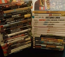 44 video game lot. PS3 Xbox 360 Wii PS2