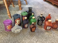 Potion bottles magic