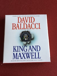 King and Maxwell audio book by David Baldacci Clifton, 20124