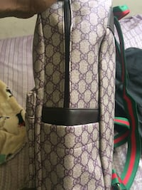 brown and black Gucci leather backpack Bellwood, 60104
