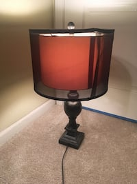 black and gray table lamp Turlock, 95382