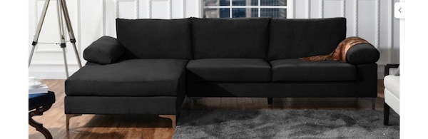 Sensational Large Black Sectional Sofa Pdpeps Interior Chair Design Pdpepsorg