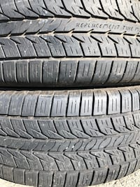 Two used tire 215/60R15 GENERAL ALTIMA X RT43 two used tire $45 2 llantas usadas 215/60R15 GENERAL ALTIMA X RT43 por las 2 llantas $45 Alexandria, 22310