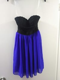 Strapless black & blue dress Altoona, 50009