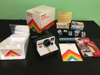 Polaroid one step camera with flash accessories  Amherstview, K7N 1H1