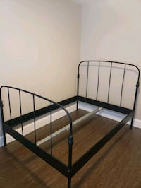 Black Metal Full Bedframe Coquitlam, V3K 6B9