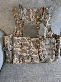 Military Tactical Camo Vest