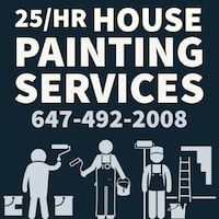 painter paint Job renovations handyman painting in Hamilton