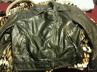 Faux leather jacket Livingston, 95334