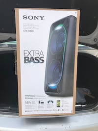 Sony Speaker Extra Bass!! Used only once every thing is in the box. Spring, 77379
