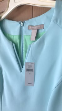 New Banana Republic Dress with tags. Was $99.99. Size 10. Fits like an 8-10. It's Tiffany Blue. Gorgeous  Macomb, 48042