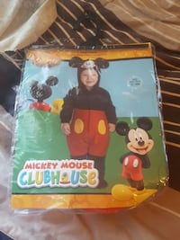 micky mouse  costume  12 months