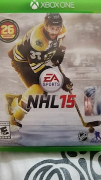 NHL 15 PS4 game case