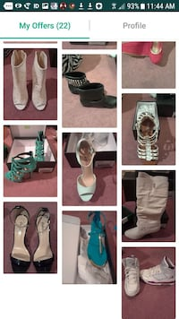 footwear lot photo collage screenshot