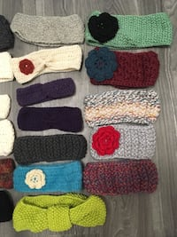 Knitted and crocheted headbands Waterloo