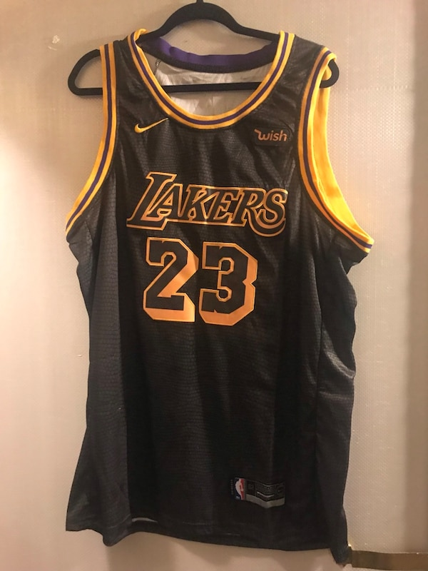 05c2bd09 Used LeBron James Black Lakers Jersey for sale in Scottsdale - letgo