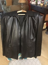Black leather jacket - very Soft leather Burnaby, V5C 3T8