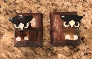 Owl wall hooks from Urban Outfitters