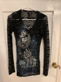 Angels and Diamonds Top Shirt S