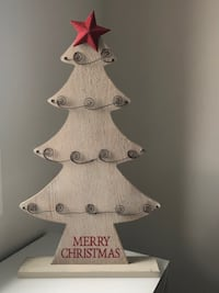 CHRISTMAS TREE HOLIDAY CARD HOLDER