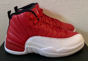 "2016 air jordan 12 gym red white aka ""Alternate"" size 11 new with box"