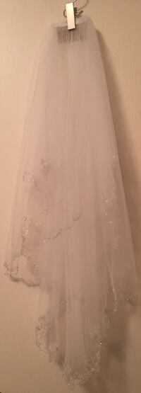 A-Line Plus Size Wedding Dress With Cap Sleeves Fort Worth, 76179