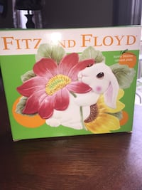 Fitz and Floyd bunny plate Indianapolis, 46268