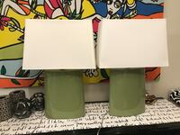 Crate and Barrel Boka Lime table lamps Rockville, 20850