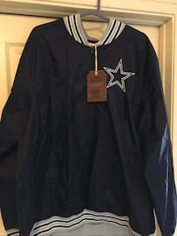 Cowboys windbreaker jacket(3xl)