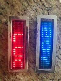 LED Belt buckle program your message on 6 inch screen instructions included asking $125 Per buckle San Benito, 78586