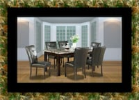 5pc dining table set with 4 chairs Greenbelt