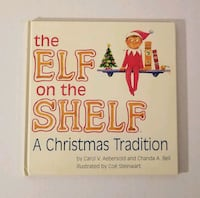 The Elf on the shelf book Chantilly, 20151