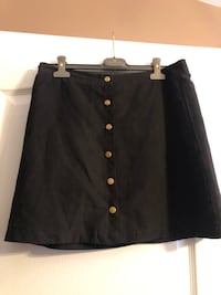 Woman's skirt black with buttons Laval, H7W 5M9