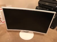 Samsung Curved Screen Monitor