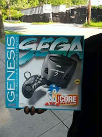 black and gray Sony Sega genesis  game system  Washington, 20019
