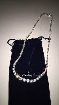 silver chain necklace with lobster lock Fresno, 93710
