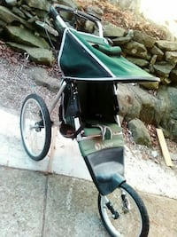 3wheel instep cart w/hand brake--