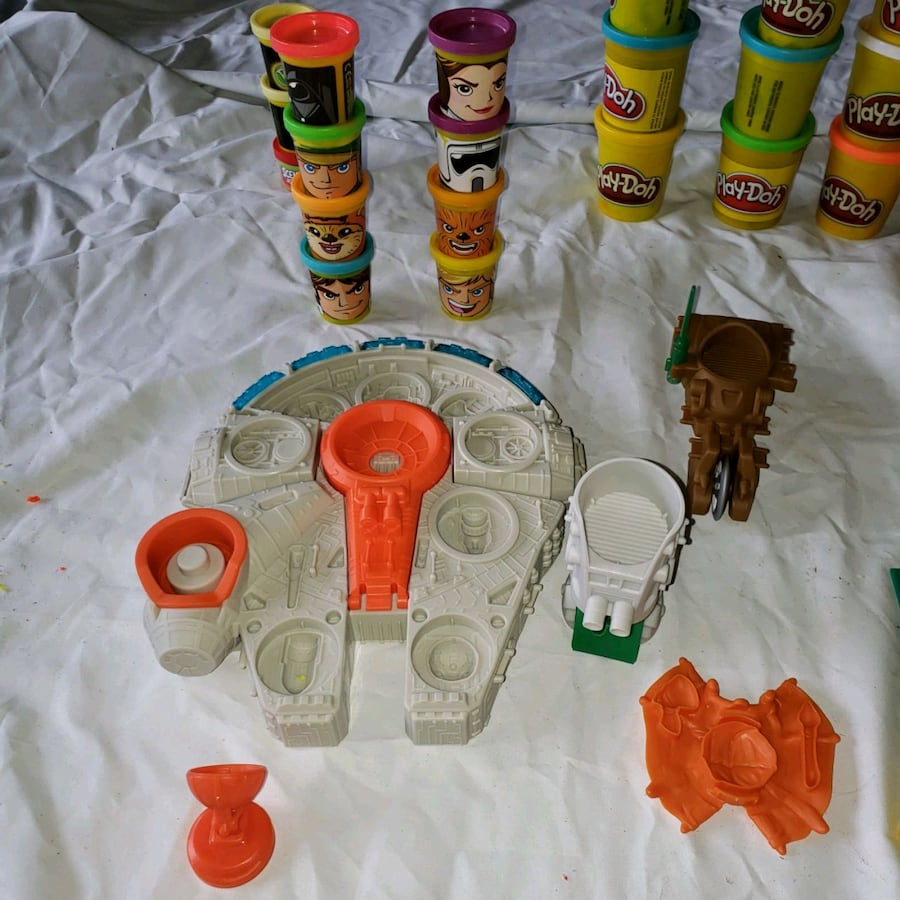 Star Wars Play Doh dough do
