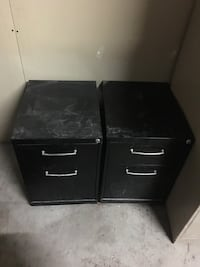 Metal cabinets on wheels great condition asking $80 each or best offer  Vaughan, L6A 3Z7