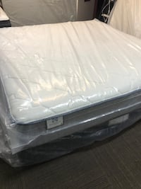 MATTRESS KING SEALY PLUSH EURO TOP (50 down)