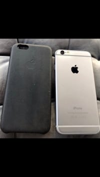 iPhone 6 with two leather case 43 km