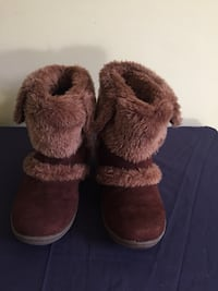 South Pole, brown faux #7 boots Woodbridge, 22191