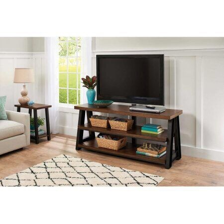 bhg mercer 3 in 1 brown tv stand for tvs up to 70 usado en venta en rh tr letgo com