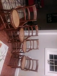 Set of 4 caned chairs Gainesville, 20155